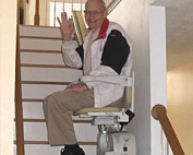 Simplicity Stair Lift for Straight Stairs