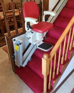 Merits Stair Lift Mechanical Hinged Rail