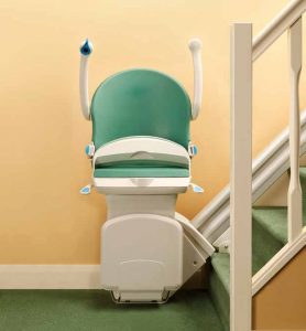 1000 Stair Lift Folded